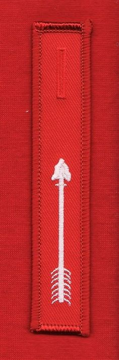 GREEN TWILL LEGEND STRIP for OA SASH Order of Arrow Patch Boy Scouts of America