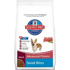 Hill's Science Diet Adult Advanced Fitness Small Bites Dry Dog Food, 17.5-Pound Bag - http://weloveourpugs.net/?product=hills-science-diet-adult-advanced-fitness-small-bites-dry-dog-food-17-5-pound-bag