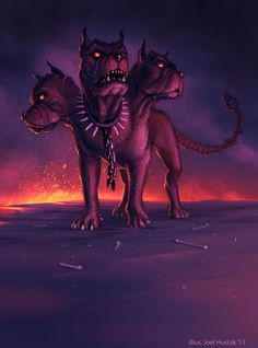 Messing with a cerberus