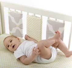 "Add some 'pop' to your little one's nursery with our reversible Bumpette Bumpers!    Olli Ella's cot bar bumpers (or ""Bumpettes"" as we like to call them) will protect your baby from bumping against hard cot bars, while still allowing air to circulate, keeping your baby safe and bump-free during sleep. Olli Ella's reversible Bumpettes are as stylish as they are functional; Each Bumpette can be secured individually around one, two or three cot bars, depending on the make and model of your…"