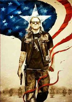 Son's of Anarchy - I shouldn't like this but I do. Great cast.