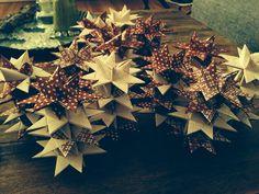 DIY christmas stars..