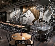 Beef & Liberty Restaurant by Spinoff, photo: Jonathan Leijonhufvud