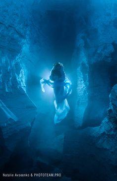 Lady of Orda Cave by Viktor Lyagushkin, via Behance