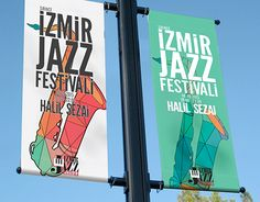 "Check out new work on my @Behance portfolio: ""İzmir Jazz Festivali Lamp Post Banner"" http://be.net/gallery/33223563/zmir-Jazz-Festivali-Lamp-Post-Banner"