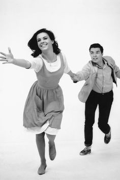 Natalie Wood as Maria and Richard Beymer as Tony in West Side Story. This is a truly exceptional item!