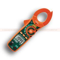 """http://termometer.dk/stromtang-r13561/ac-stromtang-r13562/200a-ac-clamp-meter-ncv-53-MA250-r13585  200A AC Clamp Meter NCV  Indbygget berøringsfri spænding tester med LED advarsel til hurtigt at kontrollere tilstedeværelsen af strømførende ledninger inden test  1.2 """"(30mm) kæbe for ledere op til 500MCM  4000 pixels, baggrundsbelyst LCD display  Multimeterfunktioner omfatter AC / DC spænding, modstand, kapacitans, frekvens, temperatur, Duty Cycle, diode-og..."""