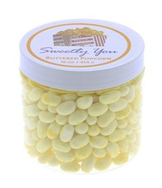 Jelly Belly 1 LB Buttered Popcorn Flavored Beans One Pound 1 Pound Bulk Jelly Beans in a resealable and reusable jar * You can get more details by clicking on the image. Gourmet Candy, Gourmet Popcorn, Flavored Popcorn, Butter Popcorn, Jelly Bean Flavors, Pop Corn, Jelly Belly, Special Deals, 1 Pound