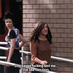Rule: If you're mad at someone, don't answer their texts for two days. Famous Movie Quotes, Tv Show Quotes, Summer Heights High, Chris Lilley, Private School Girl, Aussie Memes, Jamie King, Laughter The Best Medicine, Comedy Tv