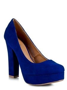 Blue heels are just fun