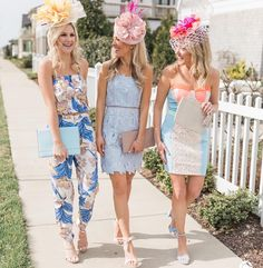 Jumpsuit and cute dresses for Thurby Derby Dress, Top To Toe, Girl Day, Kentucky Derby, Cute Dresses, Amanda, Jumpsuit, Boutique, My Favorite Things