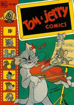 Cover for Tom & Jerry Comics (Dell, 1949 series) #64
