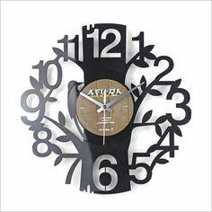 Tree Disc Clock Janya Design | Wayfair