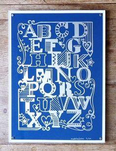 Alphabet Print