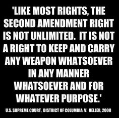 Truth of the 2nd amendment