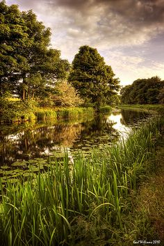 Forth and Clyde Canal, Hungryside, Kirkintilloch Scotland