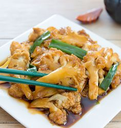 This stir fry cauliflower dish is a healthier twist on the classic Mongolian beef. It has the same great tasting sauce, but without all the calories. We experienced some unusually hot weather last week in San Diego and I just haven't been willing to turn on the oven. Enter this easy stir fry. Traditional Mongolian …