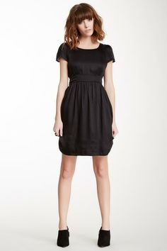 Taktik Short Sleeve Zip Back Dress by ELEVENPARIS on @HauteLook