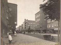 Amsterdamse School, housing/Jan Evertsenstraat, Amsterdam, architect: Frits Staal, 1924-1927