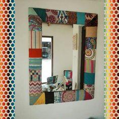 Espejo patchwork