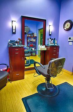 MY SALON Suite® Hair Stations, Salon Stations, Home Hair Salons, Home Salon, Beauty Shop, Diy Beauty, Le Palace, Small Salon, Barber Shop Decor