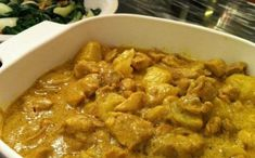 Coconut curry chicken is not only a super flavorful dish, but it's also easy to make and healthy for you! I have my mom to thank for this one! I learned this delicious recipe from her :) W… (Coconut Chicken Curry) Coconut Milk Curry, Coconut Curry Chicken, Yellow Curry Chicken, Easy Chicken Curry, Indian Food Recipes, Asian Recipes, Healthy Recipes, I Love Food, Good Food