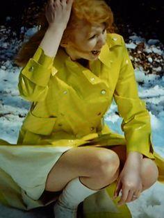Raincoats For Women Rainy Days Blue Raincoat, Pvc Raincoat, Best Rain Jacket, Jane Asher, Rubber Raincoats, Raincoats For Women, The Most Beautiful Girl, Rain Wear, Unisex