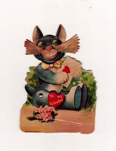 Over the next few days I am going to share some vintage valentines I have collected over the years. Feel free to copy, print, share.   Make #Old  #valentine Collection for you  . Have a look at http://www.zazzle.com/lovewallpapers/gifts?ps=120&rf=238478323816001889