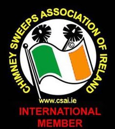Safeside Chimney are Proud international members of the Chimney Sweeps Association of Ireland