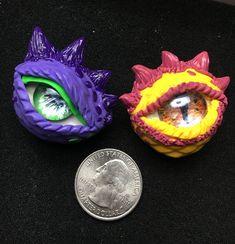 Polymer Clay Dragon, Dragon Eye, Dragon Pendant, Eyes, Cat Eyes