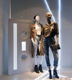 Bershka Fashion Week windows 2014, Milan – Italy » Retail Design Blog