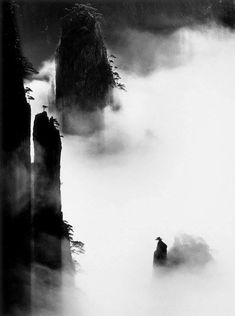 Wang Wusheng was born in the city of Wuhu in China's Anhui Province and graduated from Anhui University's School of Physics. Asian Landscape, Chinese Landscape Painting, Fantasy Landscape, Landscape Paintings, Landscapes, Sumi E Painting, China Painting, Tinta China, China Art
