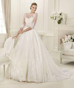 Vestido de Noiva Pronovias Dauco