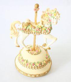Carousel Horse Musical Box plays Memory by Andre Lloyd Webber
