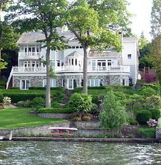 Waterfront dream home
