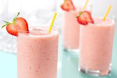 CAPRI SUN Fruit Smoothie...... Creamy, fruity and delicious, these Healthy Living smoothies can be ready to sip and savor in just five minutes.