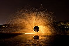 In this article we will talk about light painting techniques,the equipment that you will need to take such photos and some wonderful light painting photos for your inspiration . Fire And Desire, Fire Dancer, Abstract Photography, Desert Photography, Exposure Photography, Flow Arts, Fire Art, Fire Starters, Long Exposure