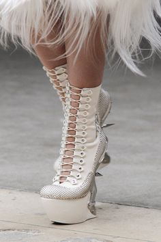 F/W 11 Alexander McQueen - and where do I wear these?