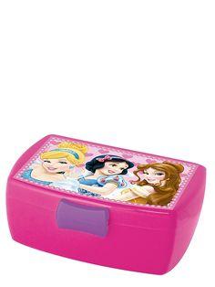 Pakkaa eväät nyt suloiseen Prinsessat-eväsrasiaan! Suljettavassa rasiassa on irrotettava lokero. Koko 16 x 6,5 x 12 cm.
