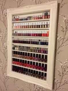Nail varnish storage x