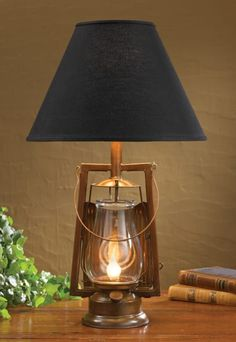 A primitive country accent lamp or decorative table lamp from the Park Designs country lighting collection is a sure fit for country décor enthusiasts. Copper Lantern, Lantern Lamp, Lanterns, Primitive Homes, Country Lamps, Country Decor, Rustic Decor, Farmhouse Lamps, Coastal Farmhouse