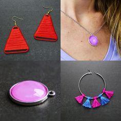 64 Trendy Ideas For Jewerly Earrings Diy Craft Ideas Paper Earrings, Art Deco Earrings, Diy Earrings, Silver Earrings, Kids Bracelets, Jewelry Bracelets, Jewelry Tools, Fine Jewelry, Jewelry Ideas