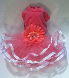 Dog Clothes Puppy Love Dog Boutique — Pink Tutu Dog Dresses