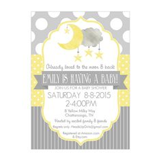 Little peanut yellow baby shower invitation pinterest baby little peanut yellow baby shower invitation pinterest baby elephant shower elephant shower and gender neutral filmwisefo