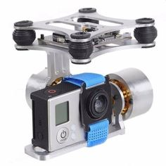 2-Axis Aluminum Brushless Camera Mount Gimbal Frame for Gopro Hero 2 3 DJI Phantom 2  Worldwide delivery. Original best quality product for 70% of it's real price. Buying this product is extra profitable, because we have good production source. 1 day products dispatch from warehouse. Fast...