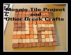 Harmony Art Mom: Making a Mosaic Project Together (More Greek Art Projects Too)