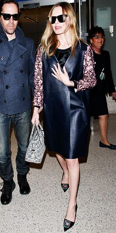Look of the Day - January 22, 2014 - Kate Bosworth #InStyle