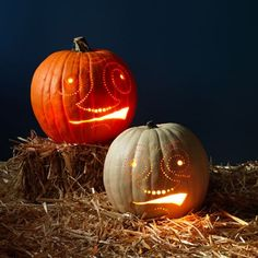 Decorate Pumpkins With a Drill