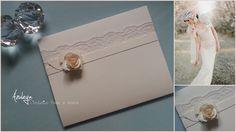 Collezione 2015  by Azuleya Partecipazione pochette piatta interamente fatta a mano .