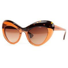 The Top 10 Sunglasses Trends of Summer 2017 ❤ liked on Polyvore featuring sunglasses